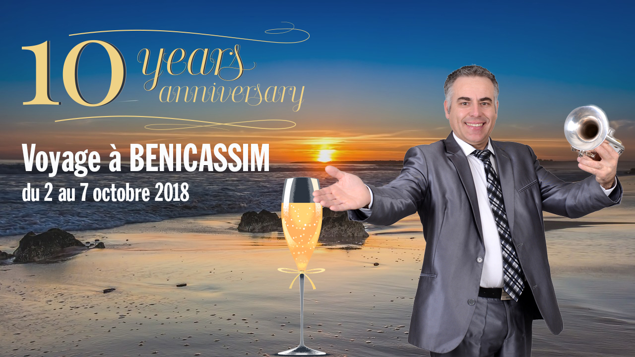 Voyage à Benicassim avec Aldo Feliciano